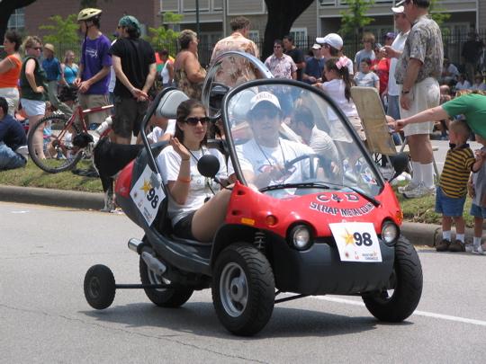 Shriner Go Kart